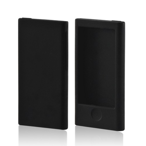 Black Silicone Case for Apple iPod Nano 7