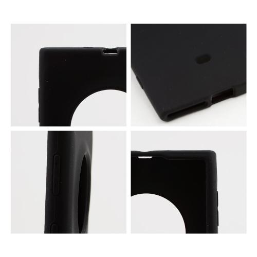 Black Silicone Skin Case for Nokia Lumia 1020