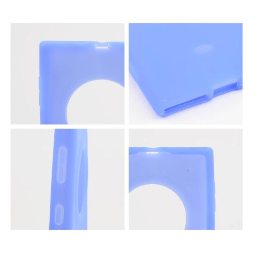 Blue Silicone Skin Case for Nokia Lumia 1020