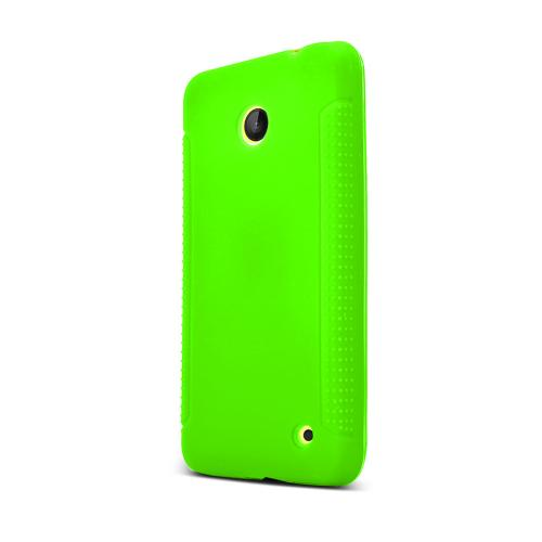 Green Nokia Lumia 635 Silicone Skin Case Cover, Great Simple Protection!