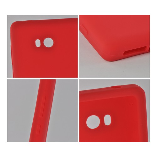 Red Silicone Case for Nokia Lumia 810