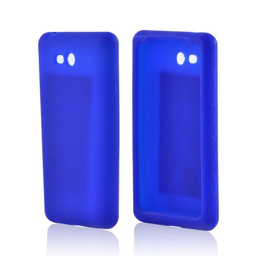 Nokia Lumia 820 Silicone Case - Blue