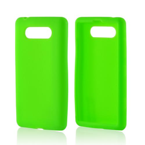 Neon Green Silicone Case for Nokia Lumia 820