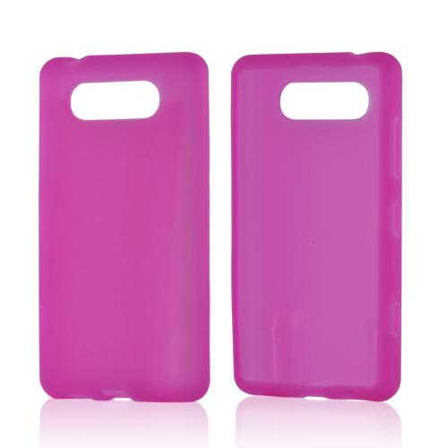 Pink Silicone Case for Nokia Lumia 820