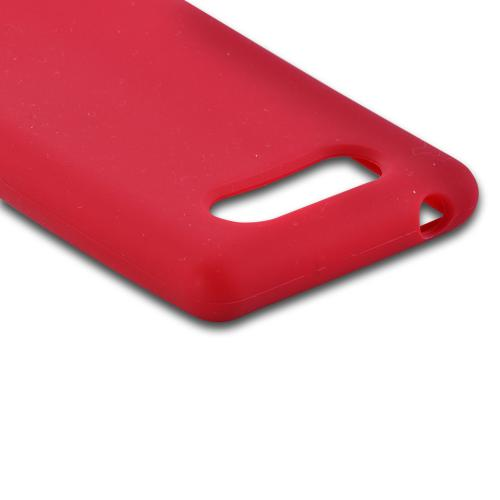 Red Silicone Case for Nokia Lumia 820