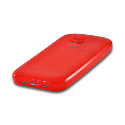 Red Argyle Crystal Silicone Case for Nokia Lumia 822