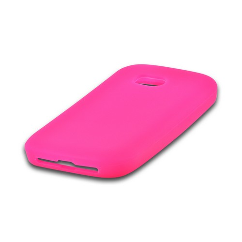 Hot Pink Silicone Case for Nokia Lumia 822