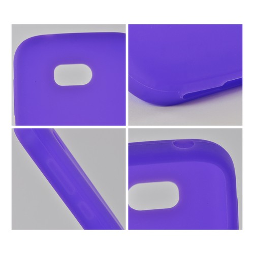 Purple Silicone Case for Nokia Lumia 822