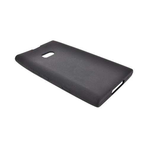 Nokia Lumia 900 Silicone Case - Black
