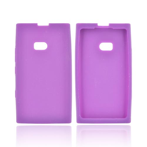 Nokia Lumia 900 Silicone Case - Purple