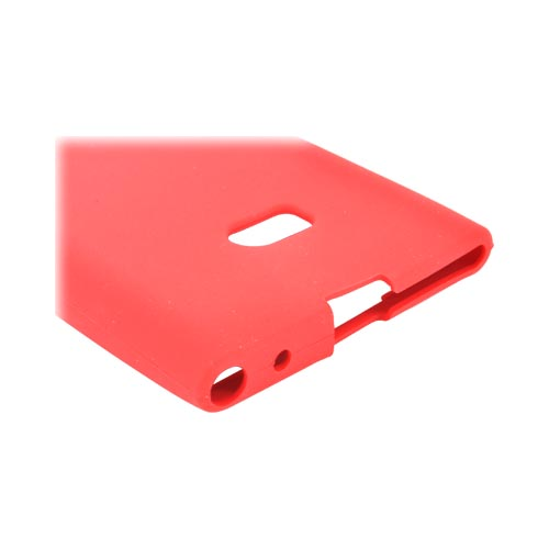 Nokia Lumia 900 Silicone Case - Red
