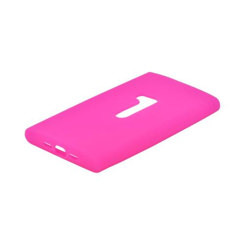 Nokia Lumia 920 Silicone Case - Hot Pink