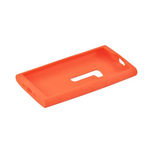 Nokia Lumia 920 Silicone Case - Orange