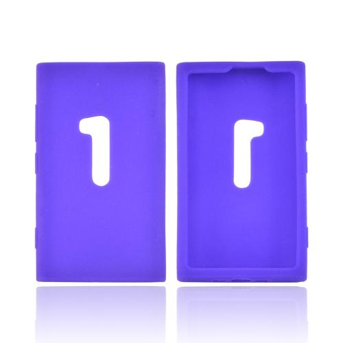 Nokia Lumia 920 Silicone Case - Purple