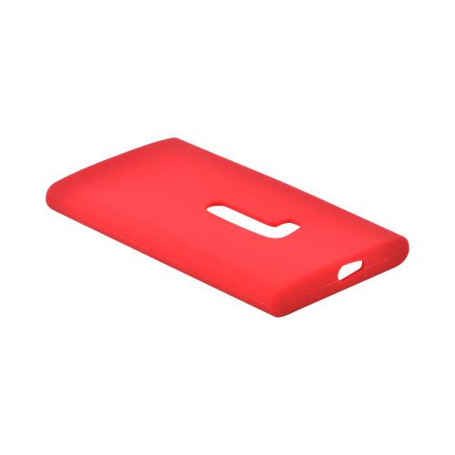 Nokia Lumia 920 Silicone Case - Red