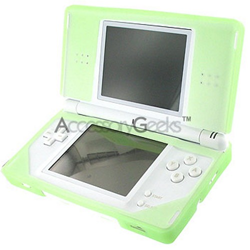 Nintendo DS Lite Silicone Case - Transparent Green