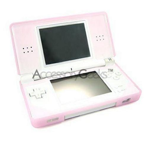 Nintendo DS Lite Silicone Case - Transparent Pink
