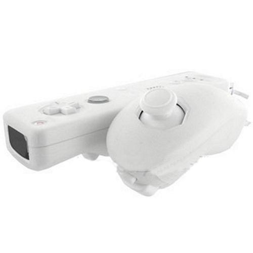 Nintendo Wii Remote and Nunchuck Controller Silicone Case - Frost White