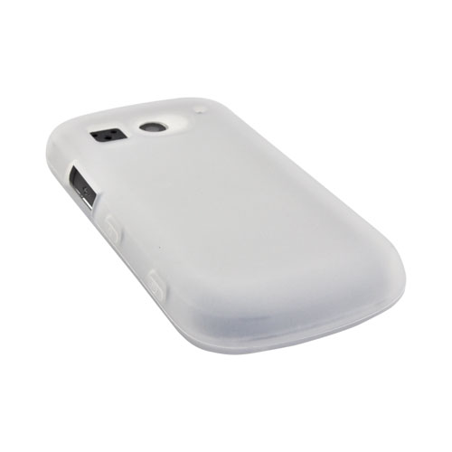 Pantech Breakout Silicone Case - Frost White