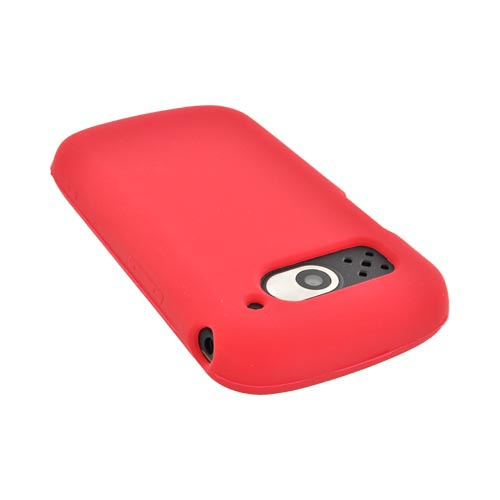 Pantech Breakout Silicone Case - Red