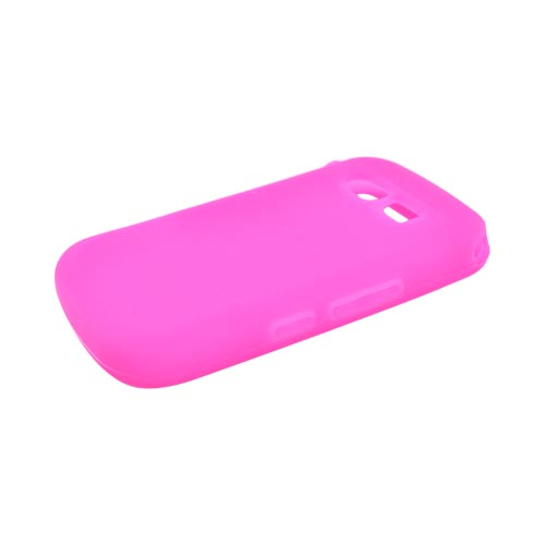 Pantech Caper Silicone Case - Hot Pink