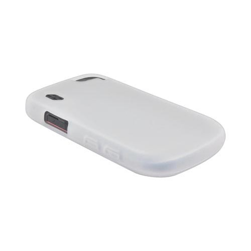Pantech Hotshot Silicone Case - Frost White