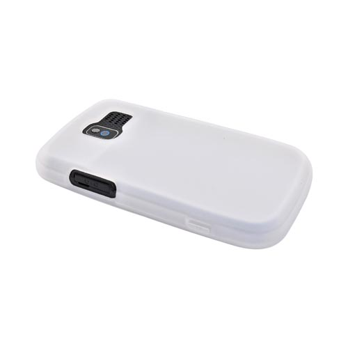 Pantech Link P7040 Silicone Case - Frost White