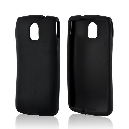 Black Silicone Case for Pantech Discover