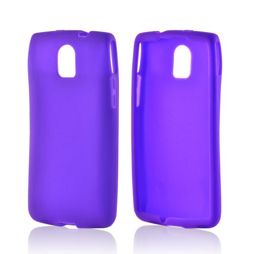 Purple Silicone Case for Pantech Discover