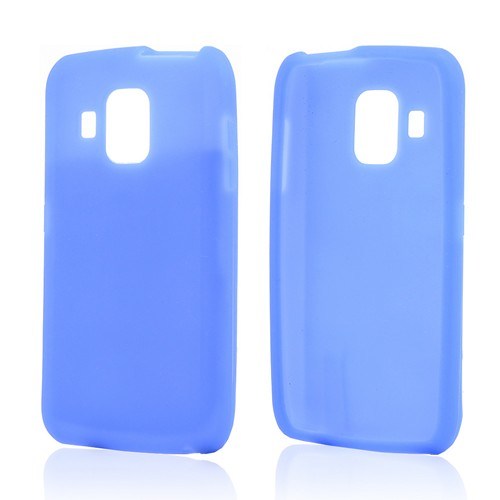 Blue Silicone Case for Pantech Perception