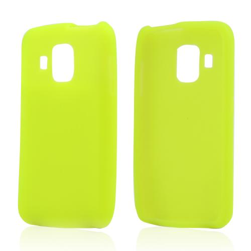 Neon Green Silicone Case for Pantech Perception