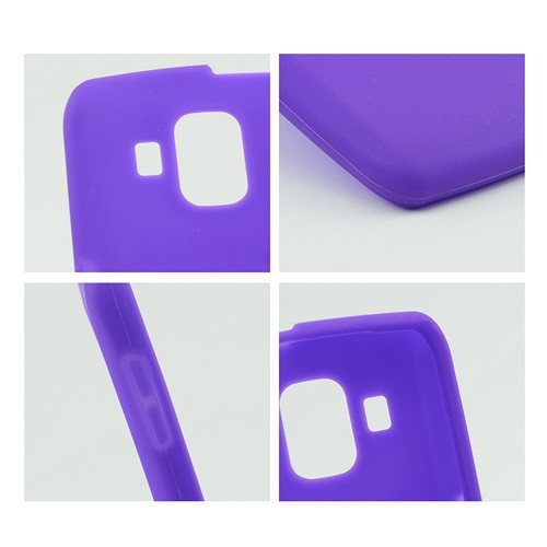 Purple Silicone Case for Pantech Perception