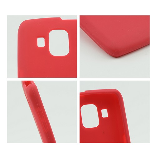 Red Silicone Case for Pantech Perception