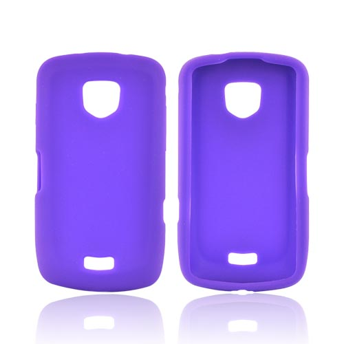 Samsung Droid Charge Silicone Case - Purple