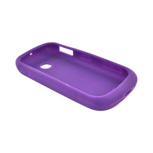 Luxmo Samsung Eternity 2 A597 Silicone Case - Purple