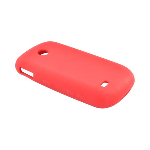 Luxmo Samsung Eternity 2 A597 Silicone Case - Red