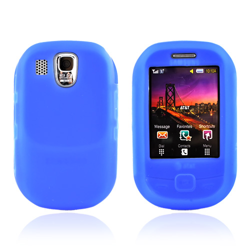 Samsung Flight A797 Silicone Case, Rubber Skin - Blue
