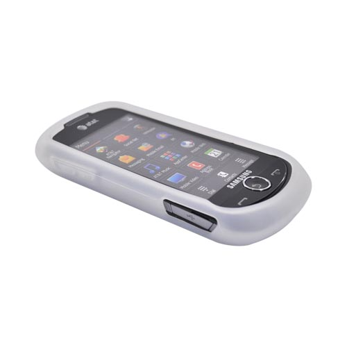 Samsung Solstice II A817 Silicone Case - Frost White