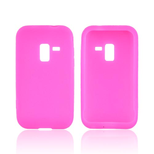 Samsung Conquer 4G Silicone Case - Hot Pink
