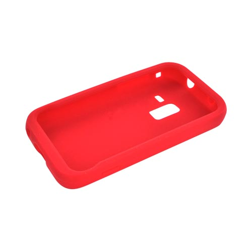 Samsung Conquer 4G Silicone Case - Red
