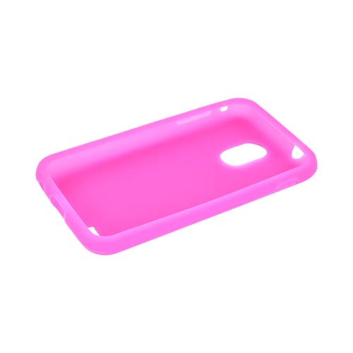 Samsung Epic 4G Touch Silicone Case - Hot Pink