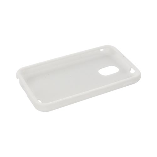 Samsung Epic 4G Touch Silicone Case - Solid White