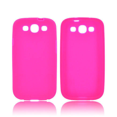 Samsung Galaxy S3 Silicone Case - Hot Pink