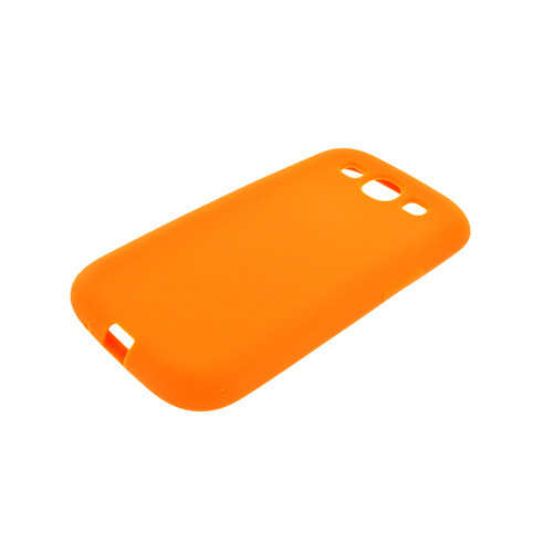 Samsung Galaxy S3 Silicone Case - Orange