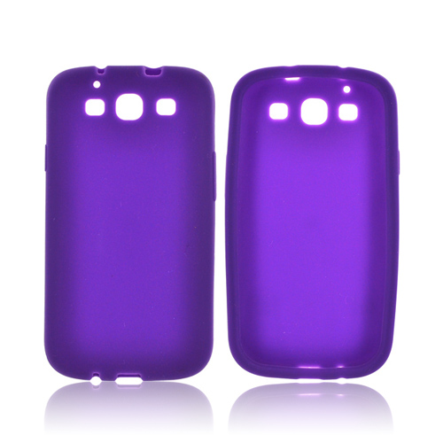 Samsung Galaxy S3 Silicone Case - Purple