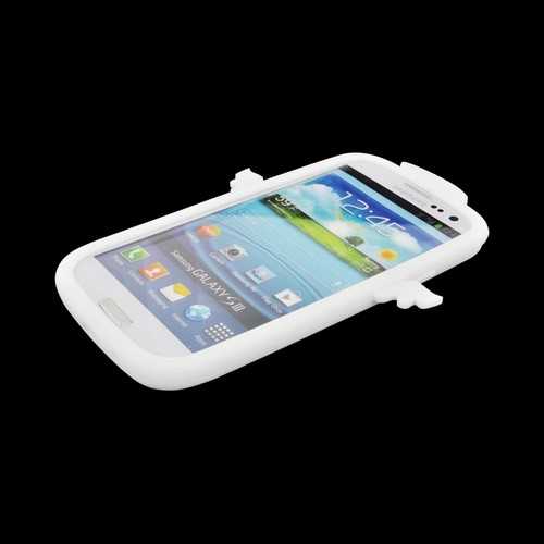 Samsung Galaxy S3 Silicone Case - White Angel w/ Wings