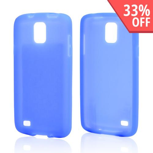 Blue Silicone Skin Case for Samsung Galaxy S4 Active