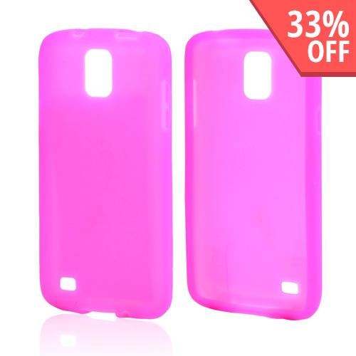 Hot Pink Silicone Skin Case for Samsung Galaxy S4 Active