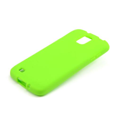 Neon Green Silicone Skin Case for Samsung Galaxy S4 Active