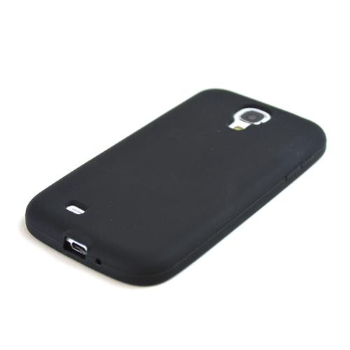 Black Silicone Case for Samsung Galaxy S4
